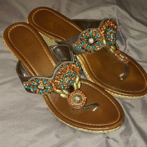 Madeline wedge sandals